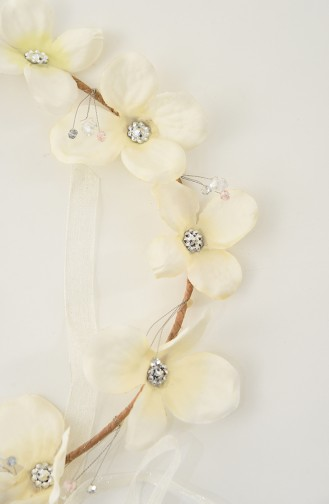 White Bridal Hair Accessories 21