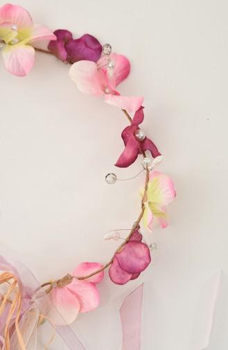 Pink Bridal Hair Accessories 22