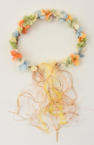 Orange Bridal Hair Accessories 26