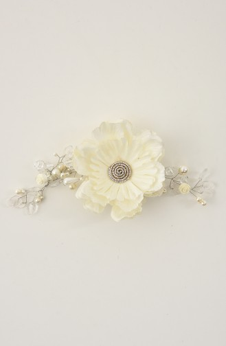 White Bridal Hair Accessories 28