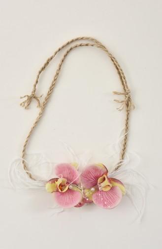 Pink Bridal Hair Accessories 30