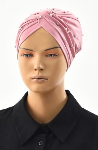 Bonnet Croisé Perlés 0032-02 Poudre 0032-02