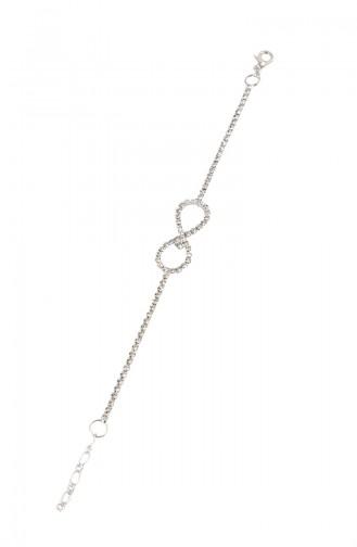 Bracelets Cristal Argent 08-0402-48-10-01 Argent 08-0402-48-10-01
