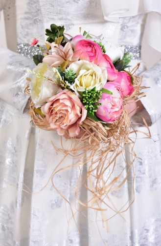 Pink Bride s Bouquet 12