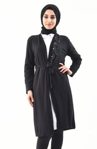 Black Cardigan 9015-01