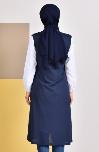 Gilet Sans Manches Bleu Marine 7818-03