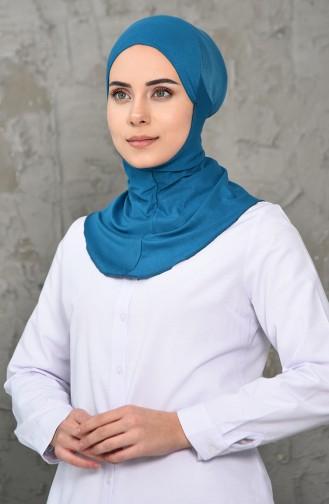 Bonnet Climatique Hijab 18 Pétrol 01-18
