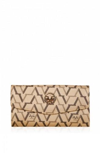1969 Italy Women Wallet Vrc3693 Gold 3693-Altın-13