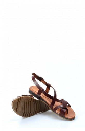 Brown Casual Shoes 408ZA3027-16777532