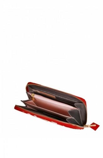 Matmazel Nile Wallet 191Sh410T Red 191SH410T-Kırmızı-06