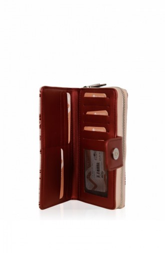 Matmazel Signature Wallet 191Sh412T Bordeaux 191SH412T-Bordo-12