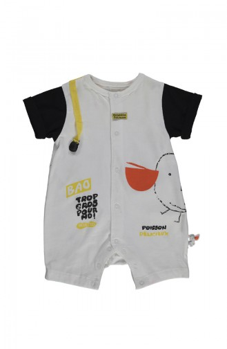 Black Baby Overall 2063-02
