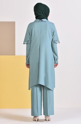 Tunik Pantolon İkili Takım 1906-04 Çağla Yeşili
