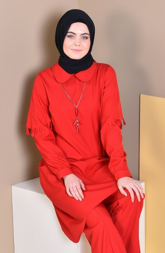 Tunic Pants Binary Suit 1906-05 Red 1906-05