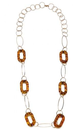 Golden Yellow Necklace 8094