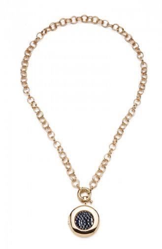 Golden Yellow Necklace 8097