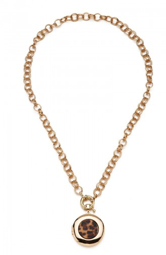 Golden Yellow Necklace 8098