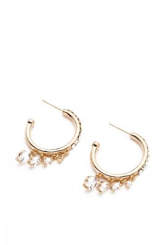 Golden Yellow Earring 7429