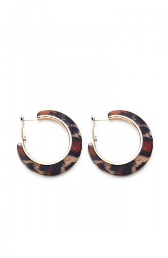 Brown Earring 7442