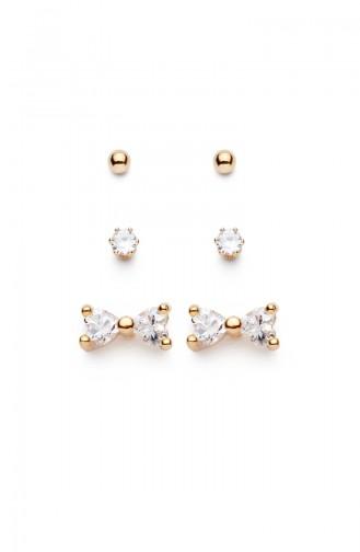 Golden Yellow Earring 7496