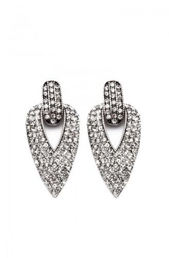 Silver Gray Earring 9495