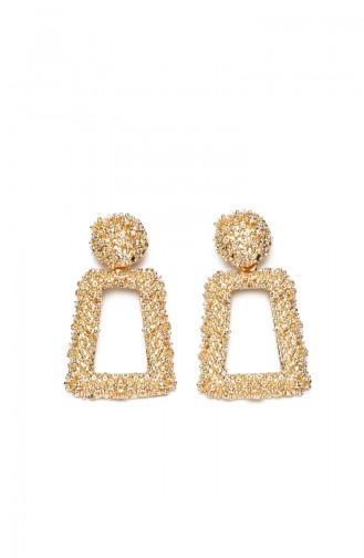 Golden Yellow Earring 9498