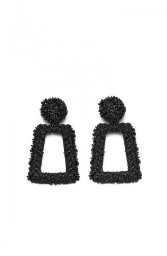 Black Earring 9499