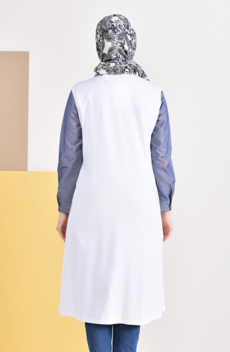 White Vest 7818-02