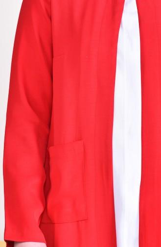 DURAN Pocketed Jacket 8006B-01 Red 8006B-01