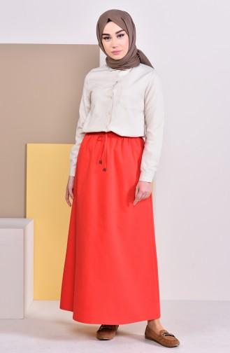 Plated Waist Skirt 1200-09 Pomegranate Flower 1200-09