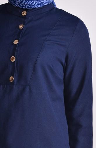 Tunique Bleu Marine 1272-05