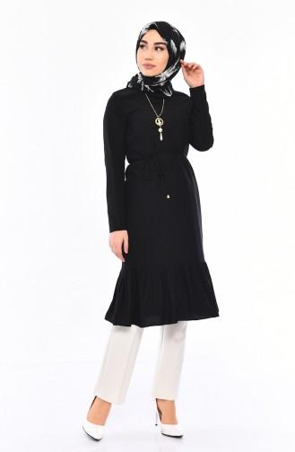 Necklace Tunic 1014-02 Black 1014-02