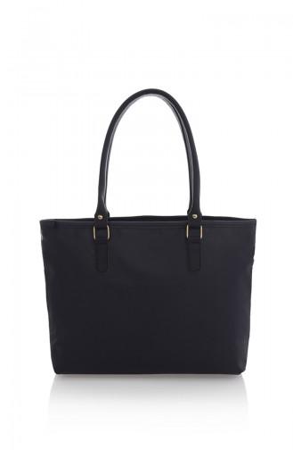 Navy Blue Shoulder Bag 09Z-05