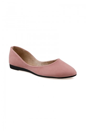 Women´s Flat Shoes Ballerina 0114-15 Powder 0114-15