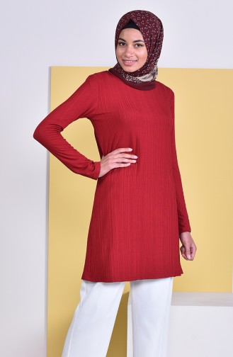 Claret red Tunic 2144-02