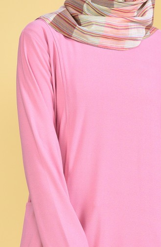 Pocketed Tunic 50307-04 Dried Rose 50307-04