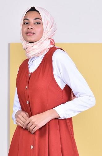 Buttoned Vest  5252-05 Tile 5252-05