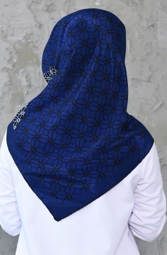 Blue Hoofddoek 7012-04