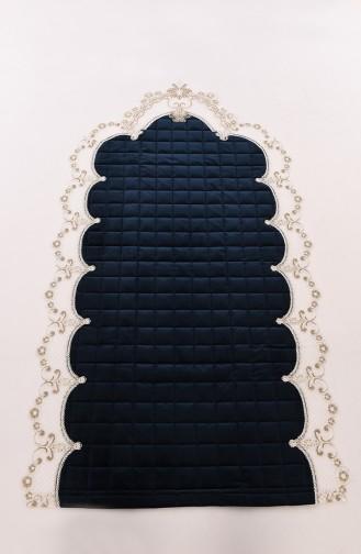 Navy Blue Praying Carpet 1000-05K