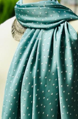 Patterned Rayon Shawl 60835-01 Almond green 60835-01