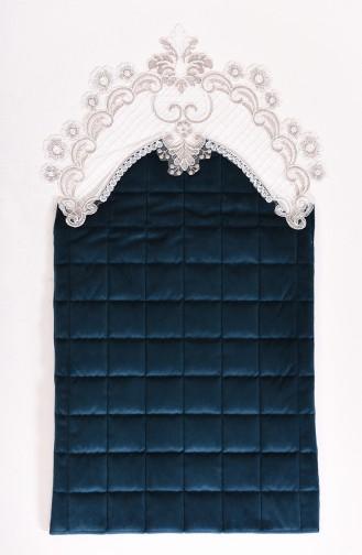 Oil Blue Praying Carpet 1000-01K