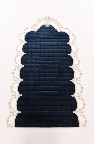 Navy Blue Praying Carpet 1000-05