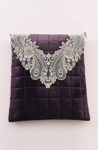 Dark Lilac Praying Carpet 1001-02K