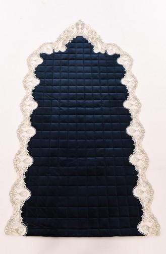 Navy Blue Praying Carpet 1001-05K