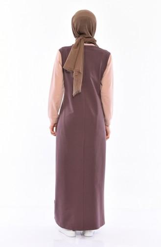 فستان رياضي 9032-05 لون بني 9032-05