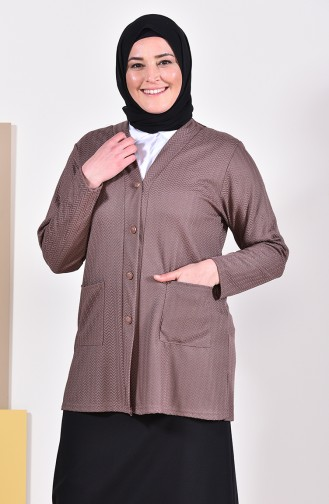Nerz Strickjacke 4701A-02