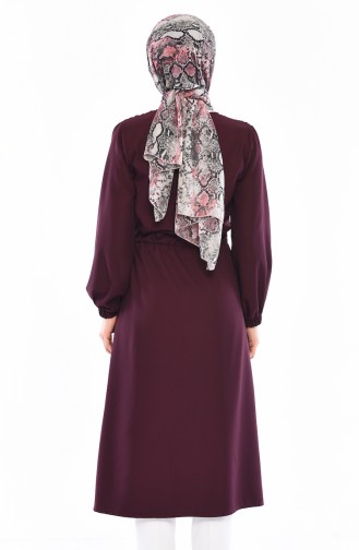 Cape a Lacets 5466-04 Plum 5466-04
