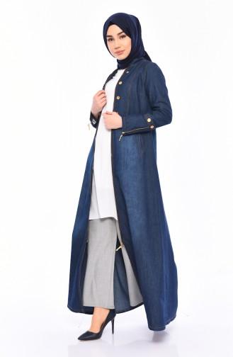 Jeans Blue Topcoat 8230-01