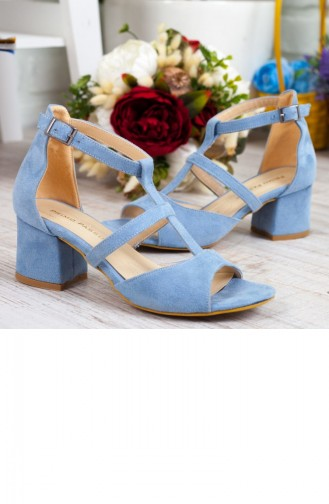 Baby Blues Heeled Shoes 192YEVR00122273