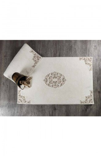 Cream Home Textile 16554